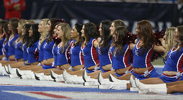 Rather grateful Buffalo bills cheerleaders