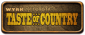 taste of country buffalo logo