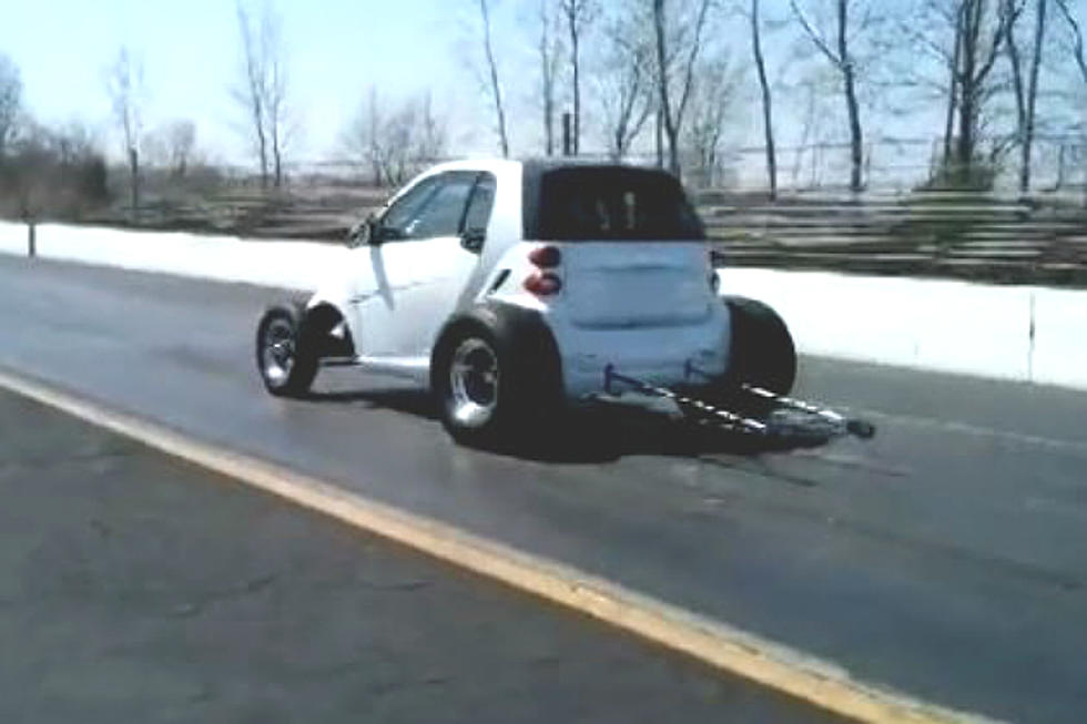 Smart Car Gets A Muscle Motor And Goes From 0 To 114 Mph In 11 7 Seconds