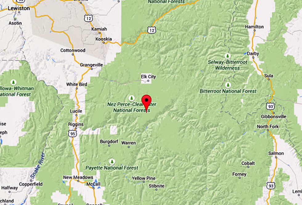 Forest Fire Reported South of Dixie, Idaho