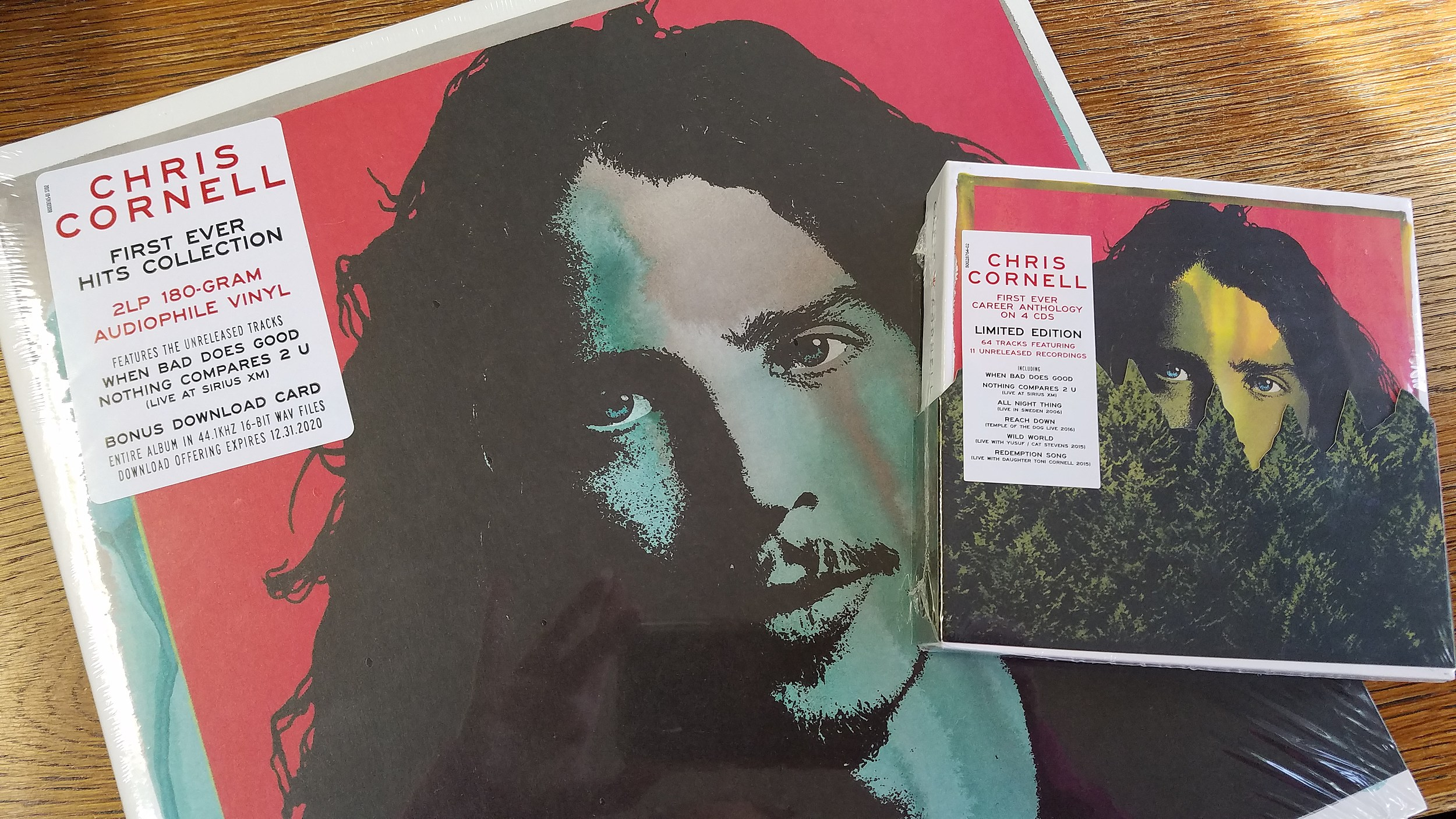 Get the mooseradio app for the ultimate chris cornell package.