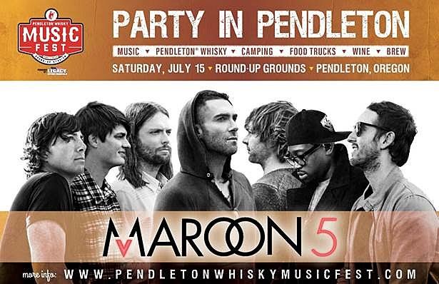 Pendleton whiskey music festival