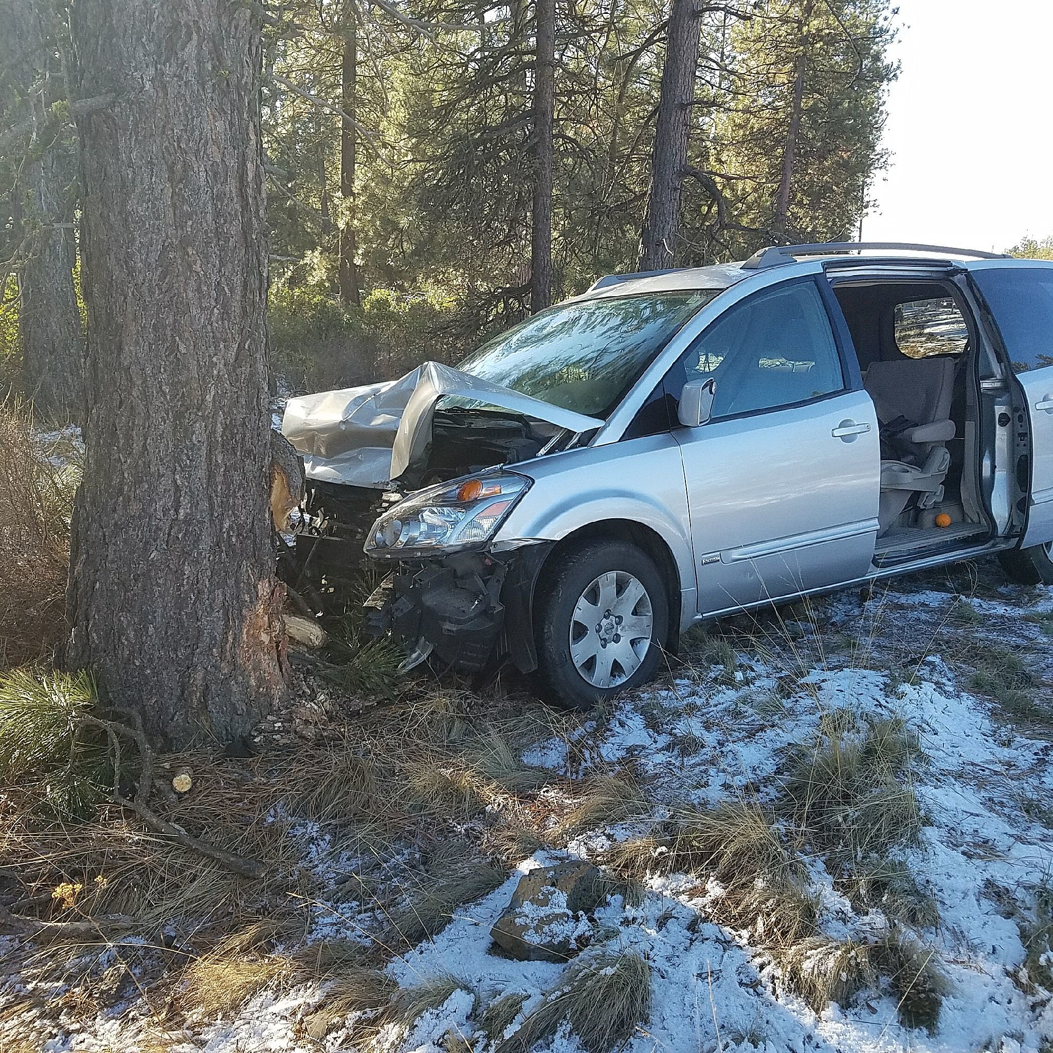 Witnesses Sought For Fatal Oregon Crash Van Rammed Car Off Road