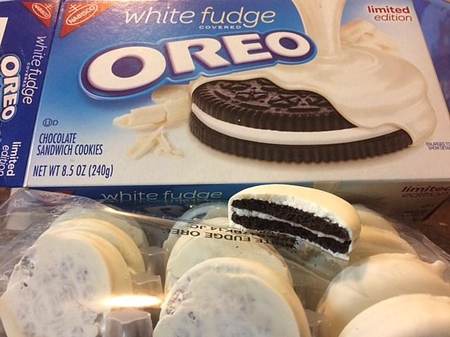 White Fudge Oreos Release Date