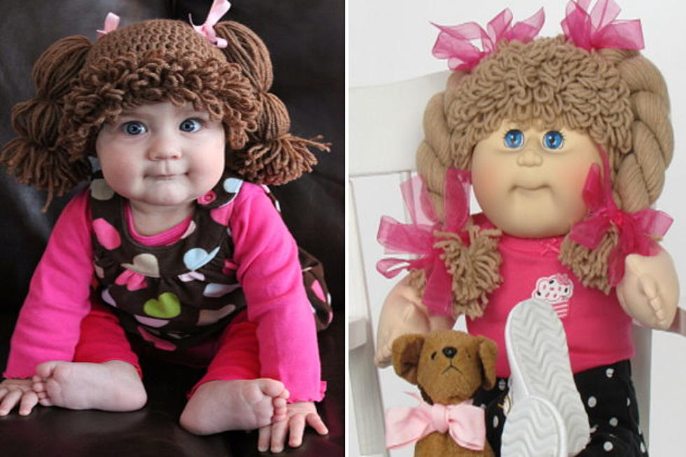 Amanda Lillie Makes Cabbage Patch Kids Wigs For Real Babies