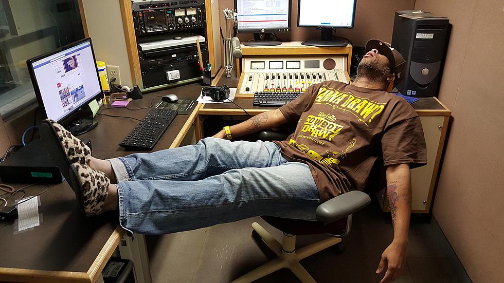 DJ Nyke Locks Himself Out Of Apartment, Crashes At Radio Station
