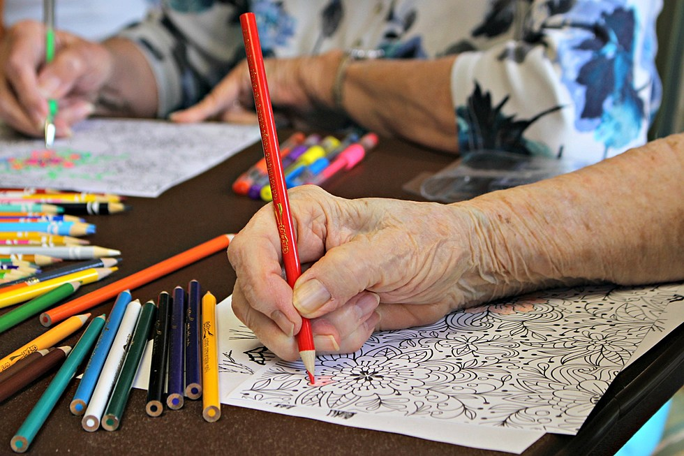 Adult Coloring Club Is Back At The Natrona County Library