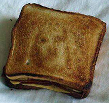 Jesus on a Grilled Cheese