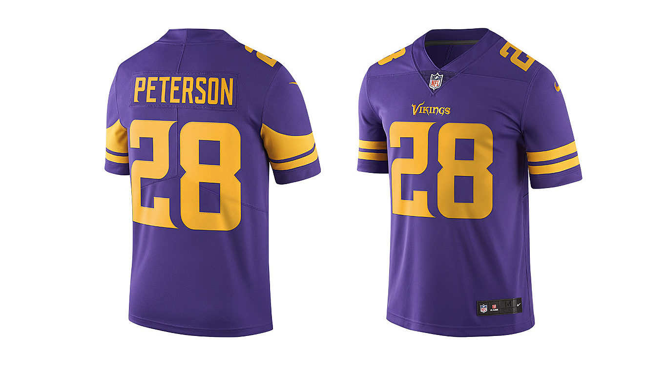 c60645f6 ... purple 4a860 8fc91; reduced nike unveils new minnesota vikings color  rush jersey 31cfe 7be6c