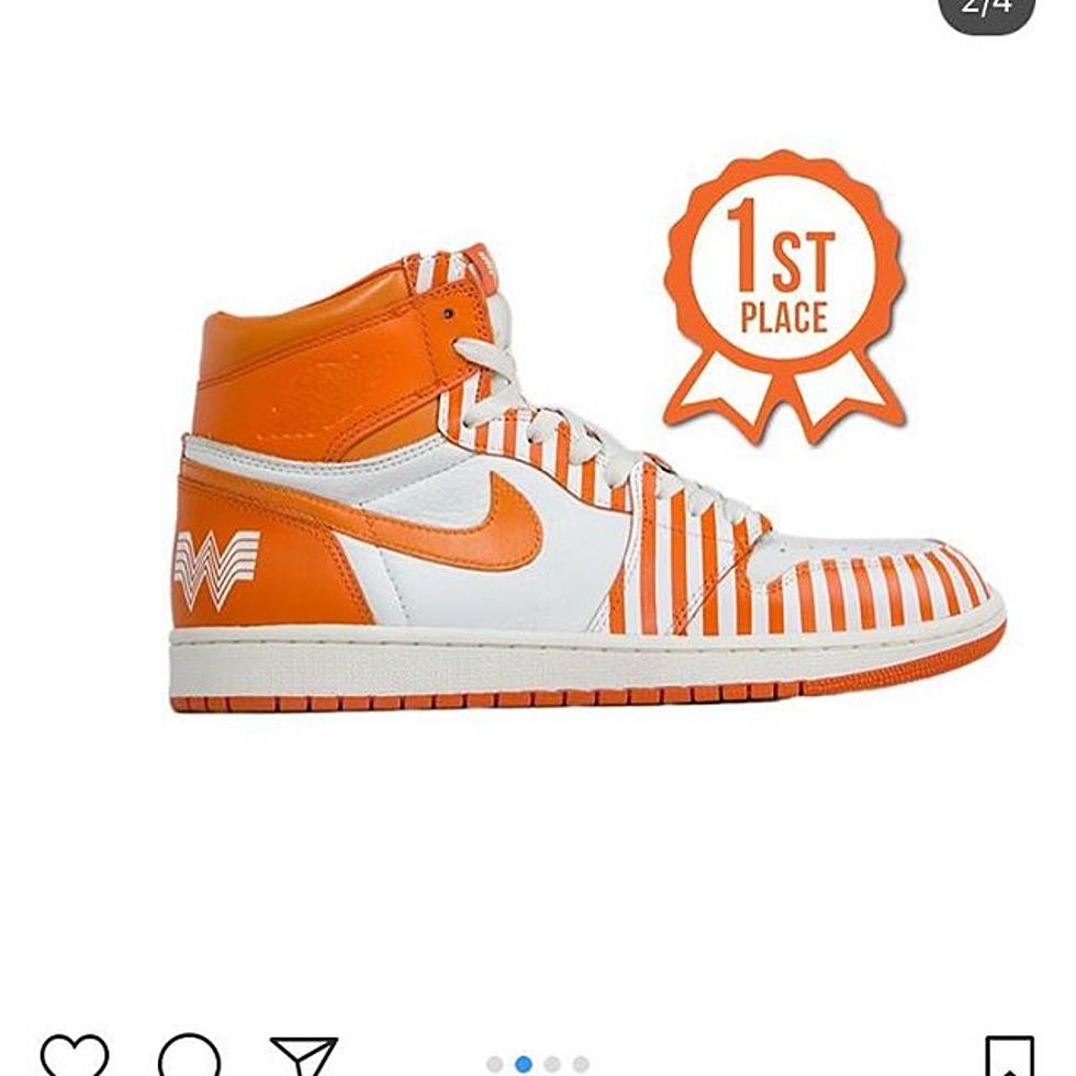 You Could Win These Great Customized Whataburger Shoes