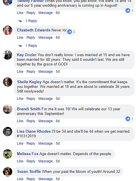 what is the perfect age to get married