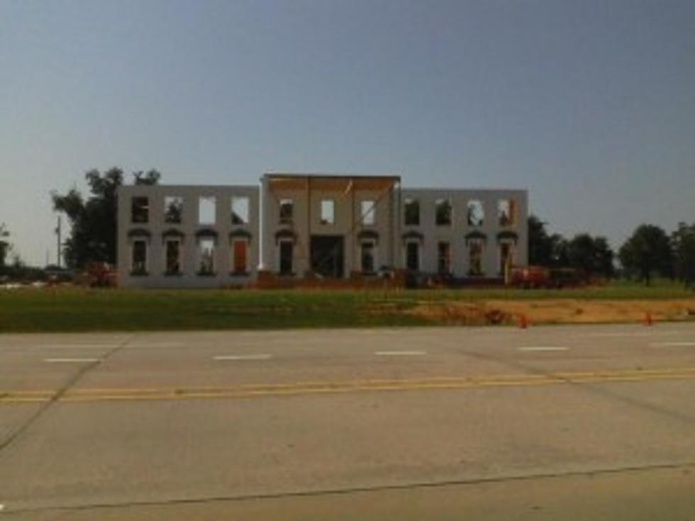 White House Movie Set In Bossier Damaged Slightly In Storm