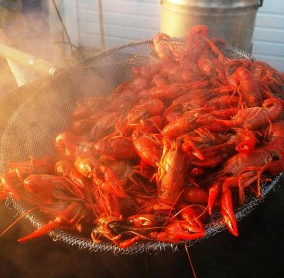 here s the nutrition information about crawfish