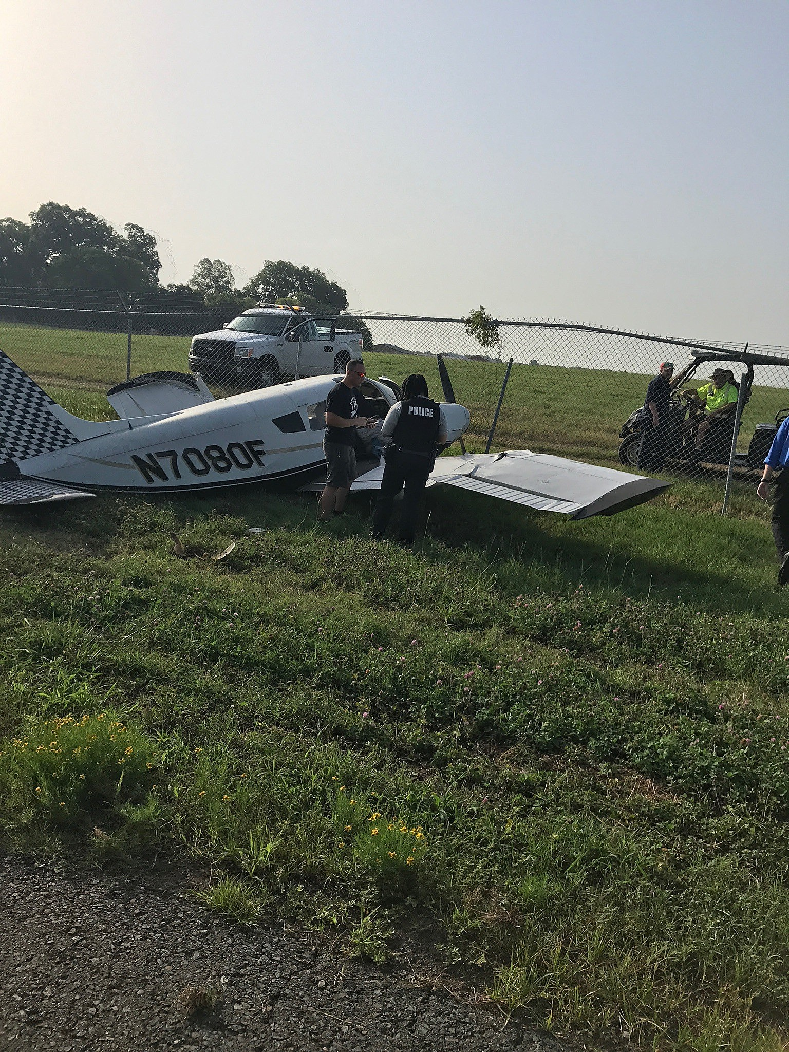 Officials Recounting Downed Plane In East Texas Photo Crashed Aircraft Beacon