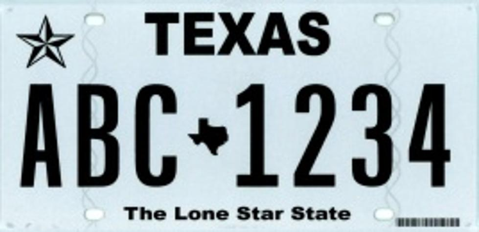 Texas Department of Motor Vehicles Introduces New Texas Classic License Plates