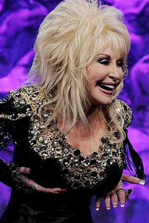 Dolly parton shows her tits remarkable