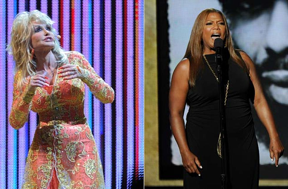 Dolly Parton Spars With Queen Latifah In New Joyful Noise Movie