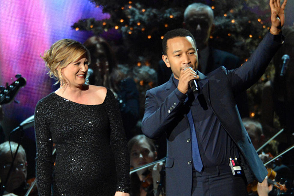 Jennifer Nettles and John Legend Duet \'O Holy Night\' on \'CMA Country ...