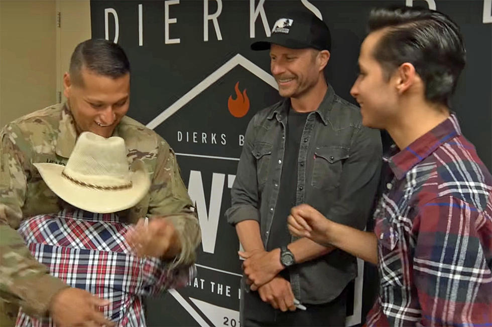 Dierks Bentley Helps Give Military Family A Visit From Dad