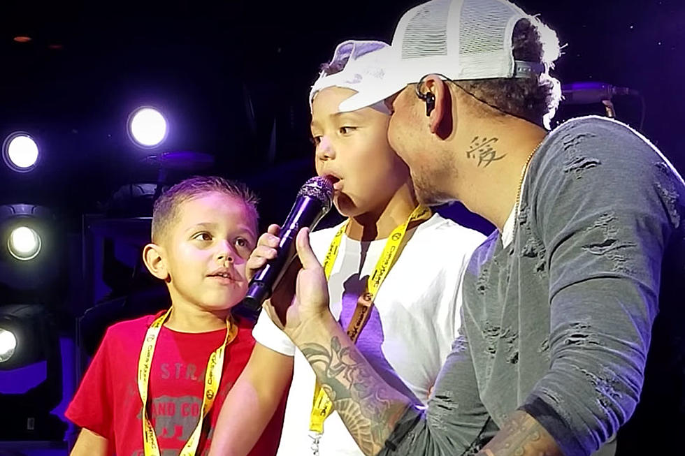 Kane Brown Steps Aside To Let Young Boys Lead On Heaven