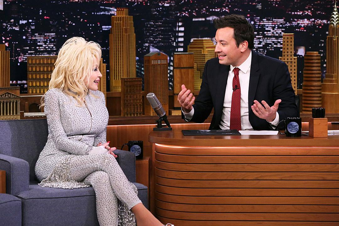 EXCLUSIVE: Dolly Parton Tells Fallon About Husband\'s Wild Fantasy
