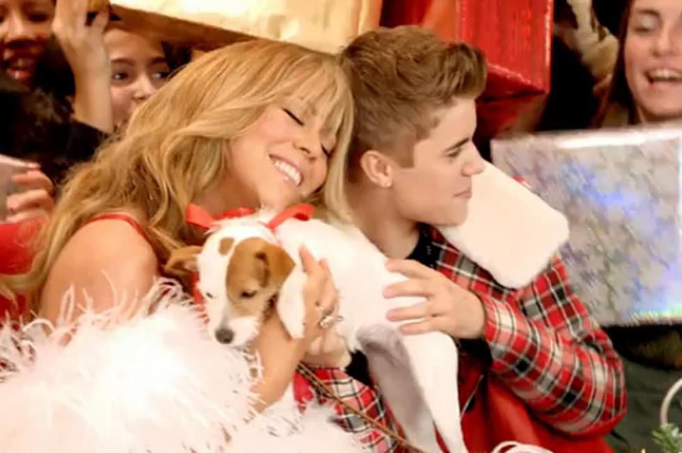 Mariah Carey + Justin Bieber Celebrate Christmas at Macy\'s in \'All I ...