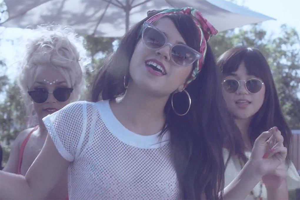 Becky G Captures Summer Fun In New Video Shower