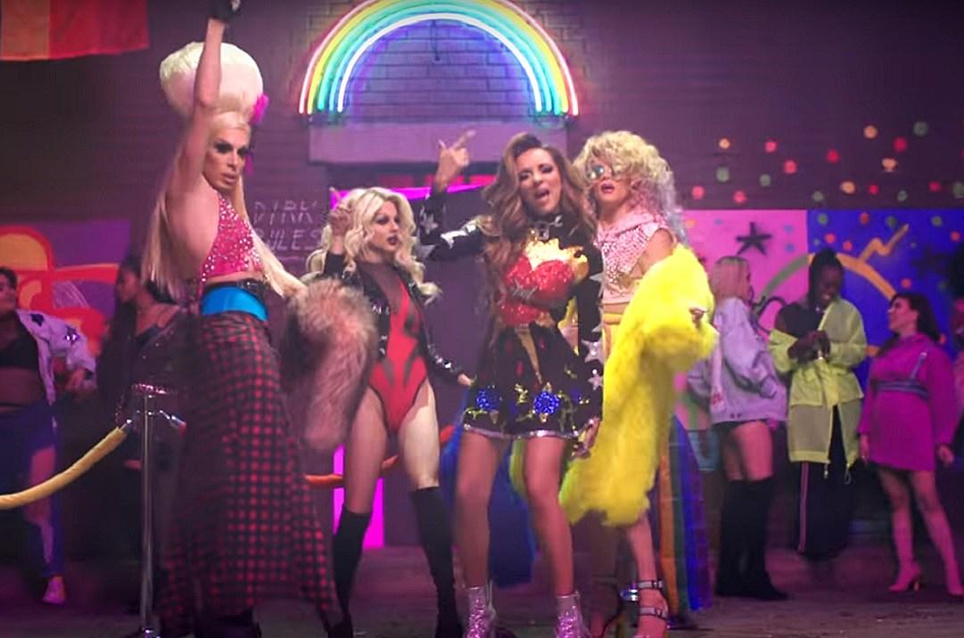 ff8b977cd290 New Little Mix Video Features  RuPaul s Drag Race  Stars