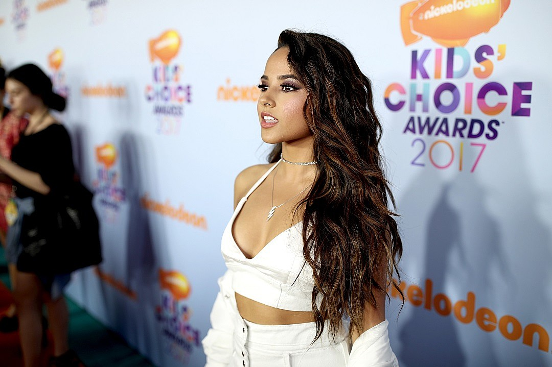 Becky G Gets Physical In Her Break A Sweat Lyric Video