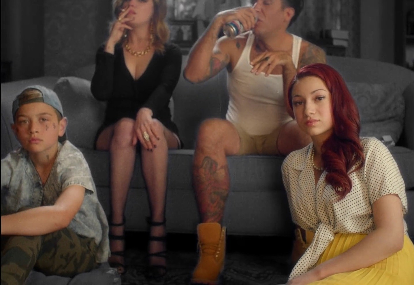 4fc540d7c22 Why Is David Spade in Bhad Bhabie s  Gucci Flip Flops  Video