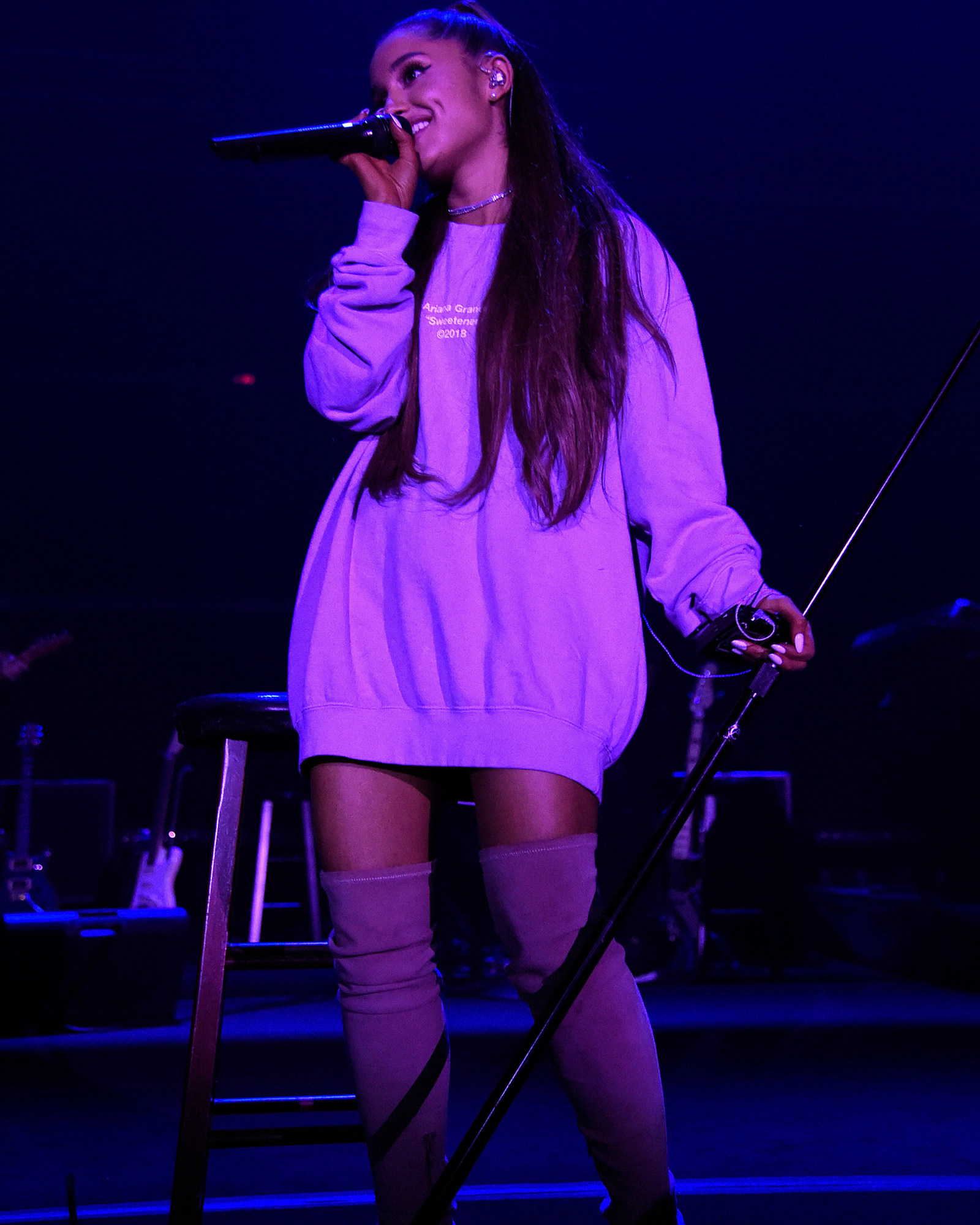 c414392e41f An Appreciation of Ariana Grande s Thigh-High Boot Obsession
