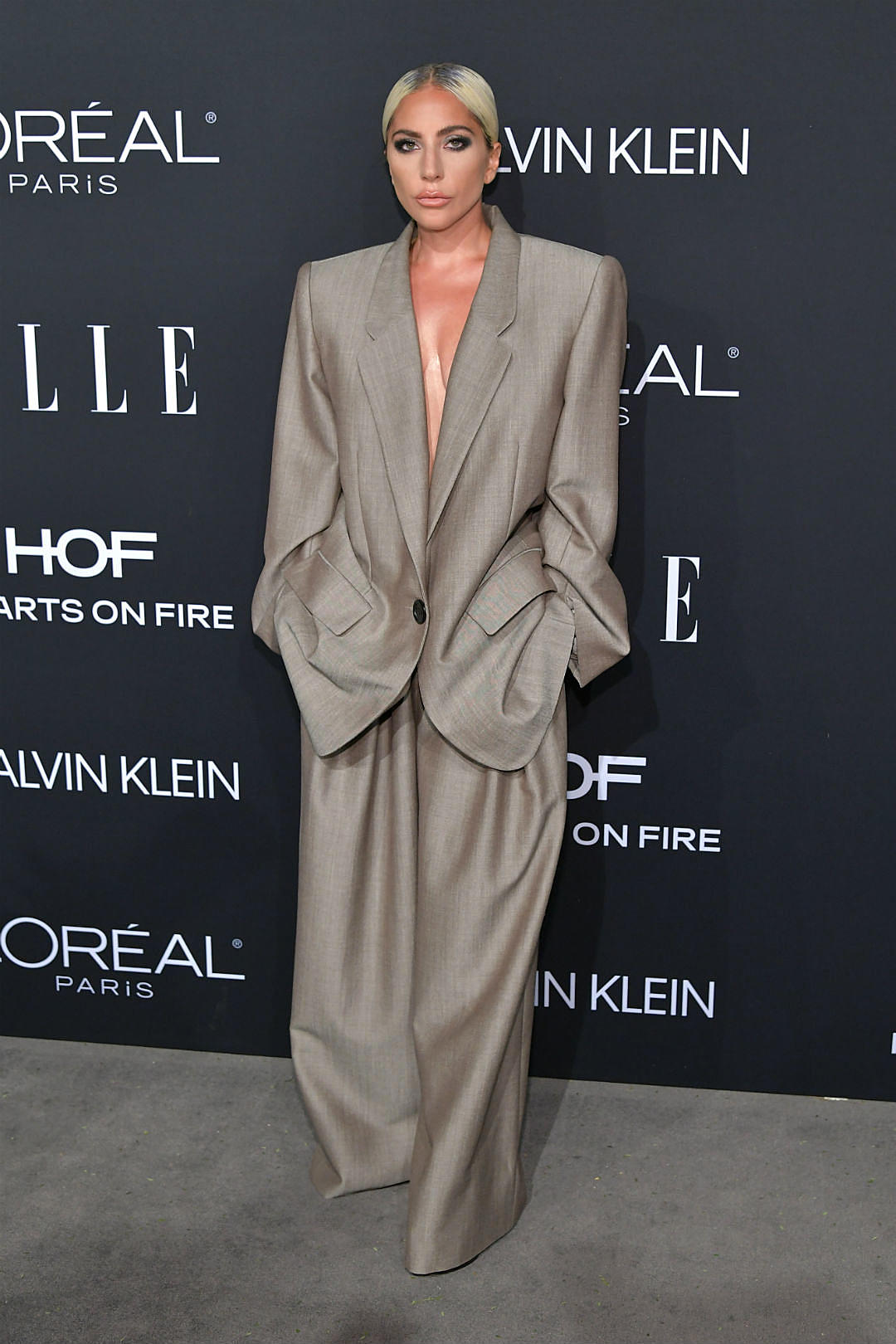 Lady Gaga Explains Why She Wore Huge Baggy Suit To Elle Event