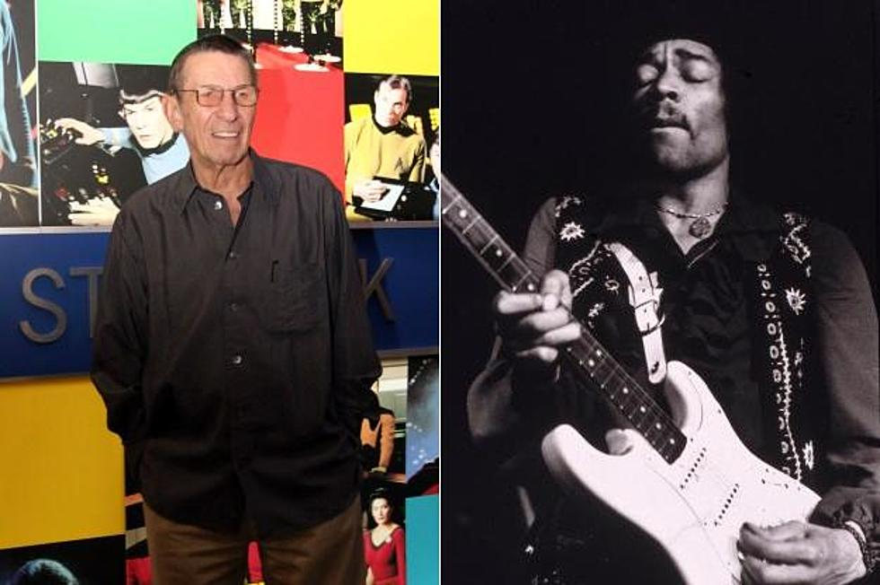 Star Trek\'s\' Leonard Nimoy Once Met Jimi Hendrix