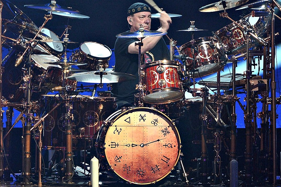 Neil Peart S R40 Drum Set Is Made Out Of 1 500 Year Old Wood