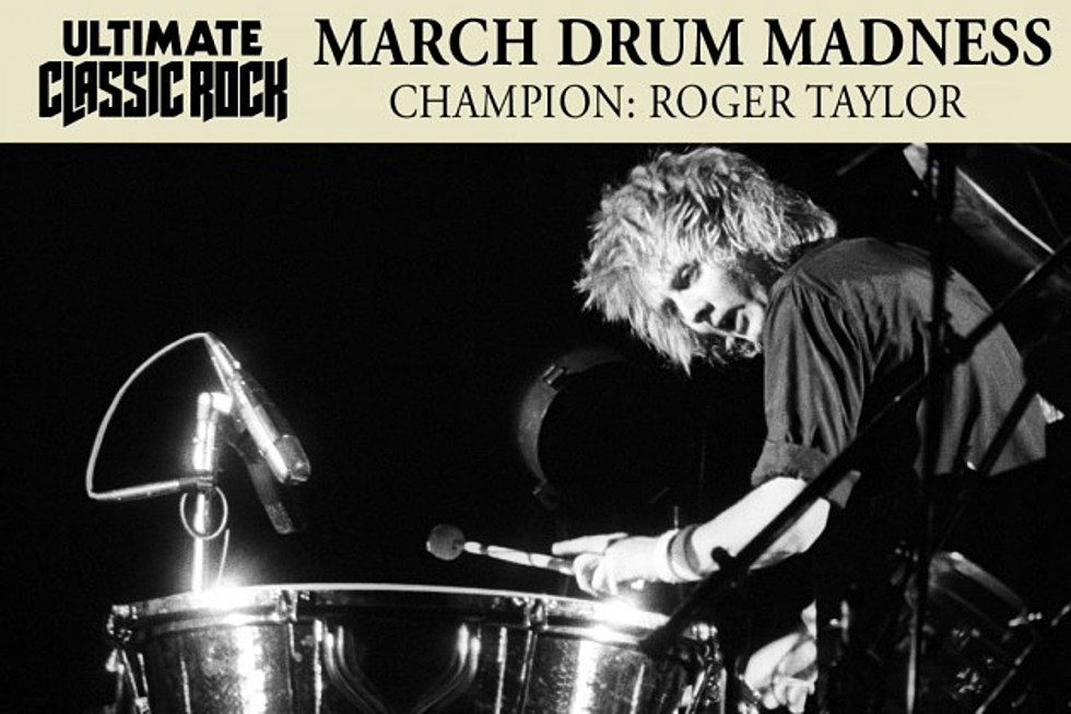 Queen S Roger Taylor Wins March Drum Madness