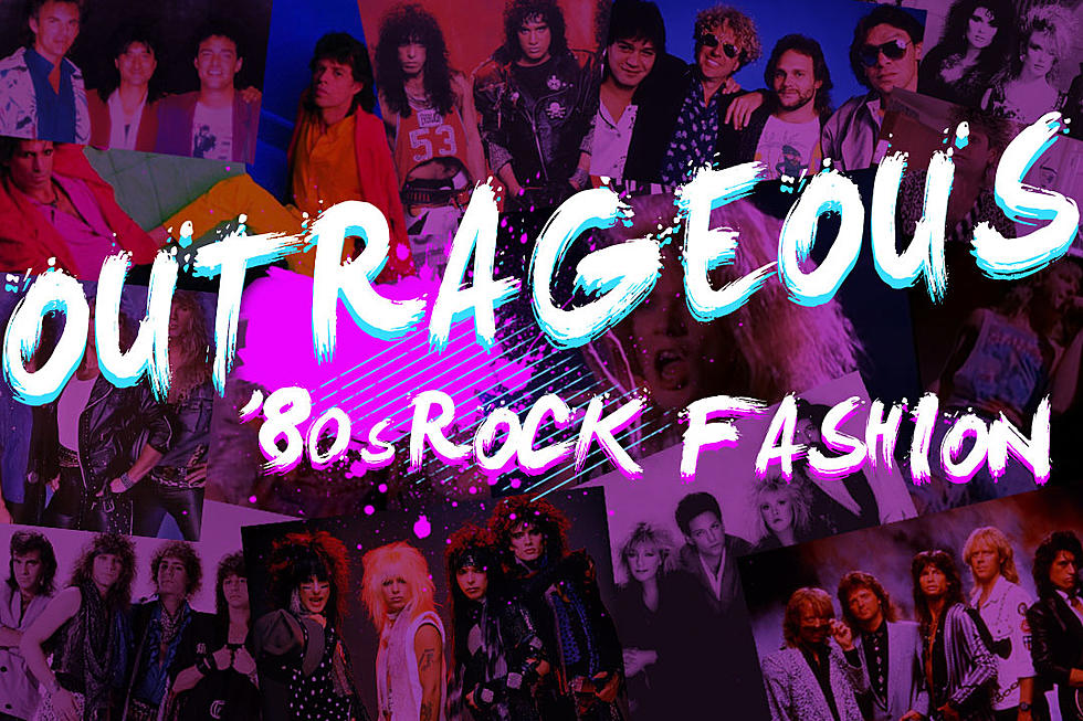 30 most outrageous 80s rock fashions