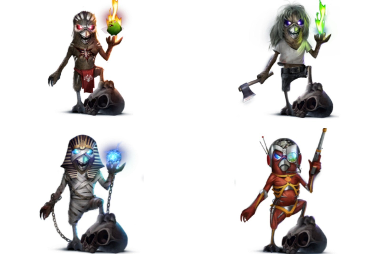 Iron Maiden Mascot Turned Into Playable \'Angry Birds\' Character
