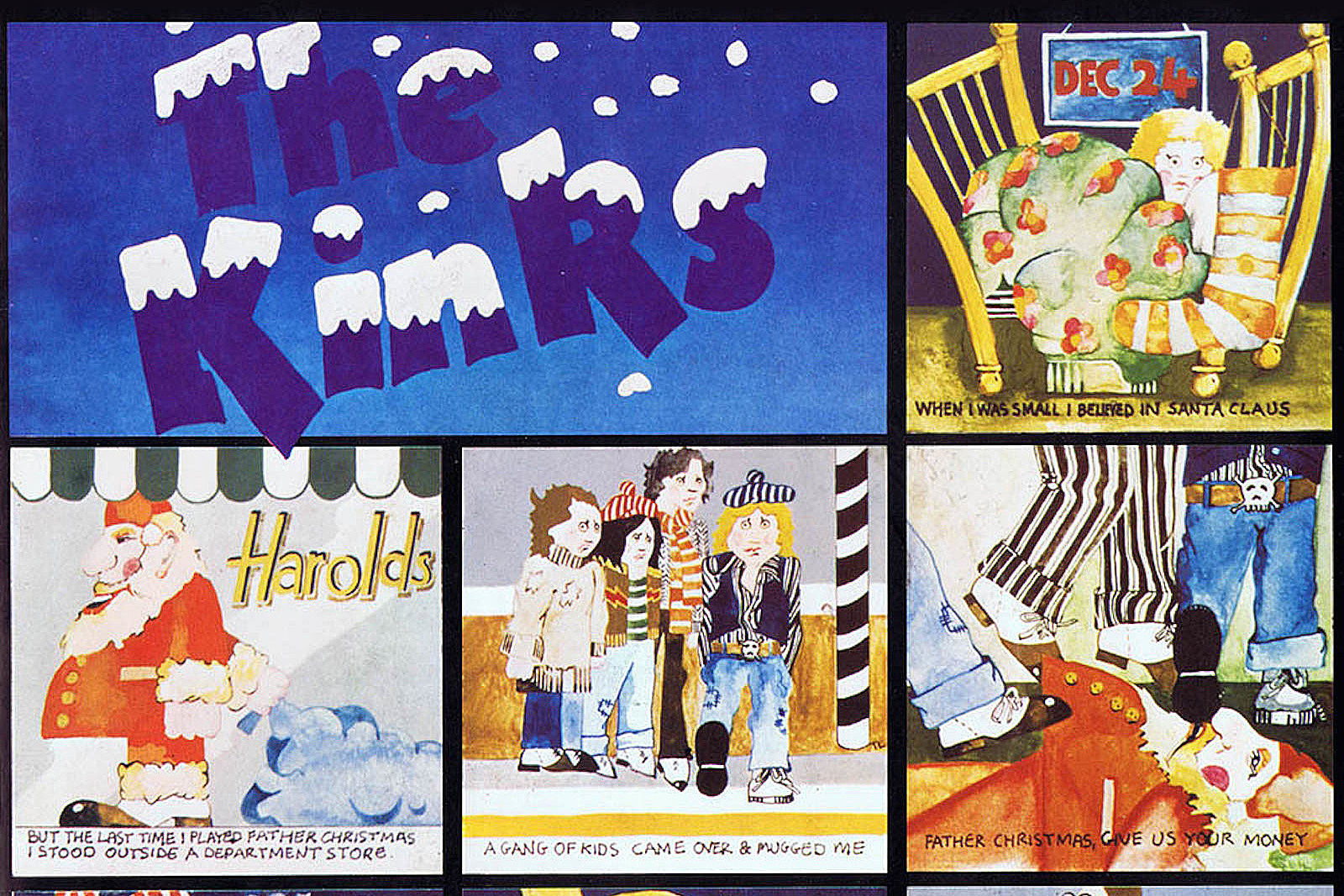 When the Kinks Got Deceptively Festive on \'Father Christmas\'