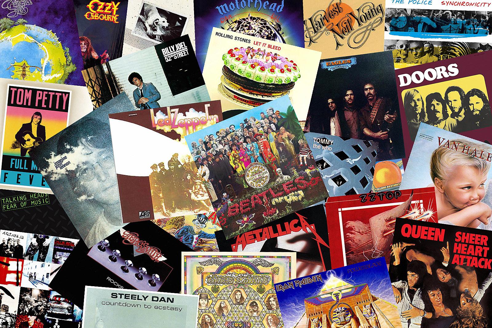 Classic rock music of the whole era