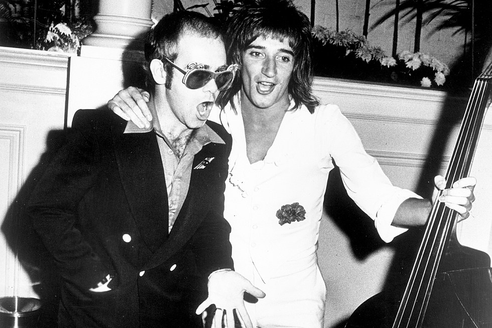 Rod Stewart Mocks Elton John's...