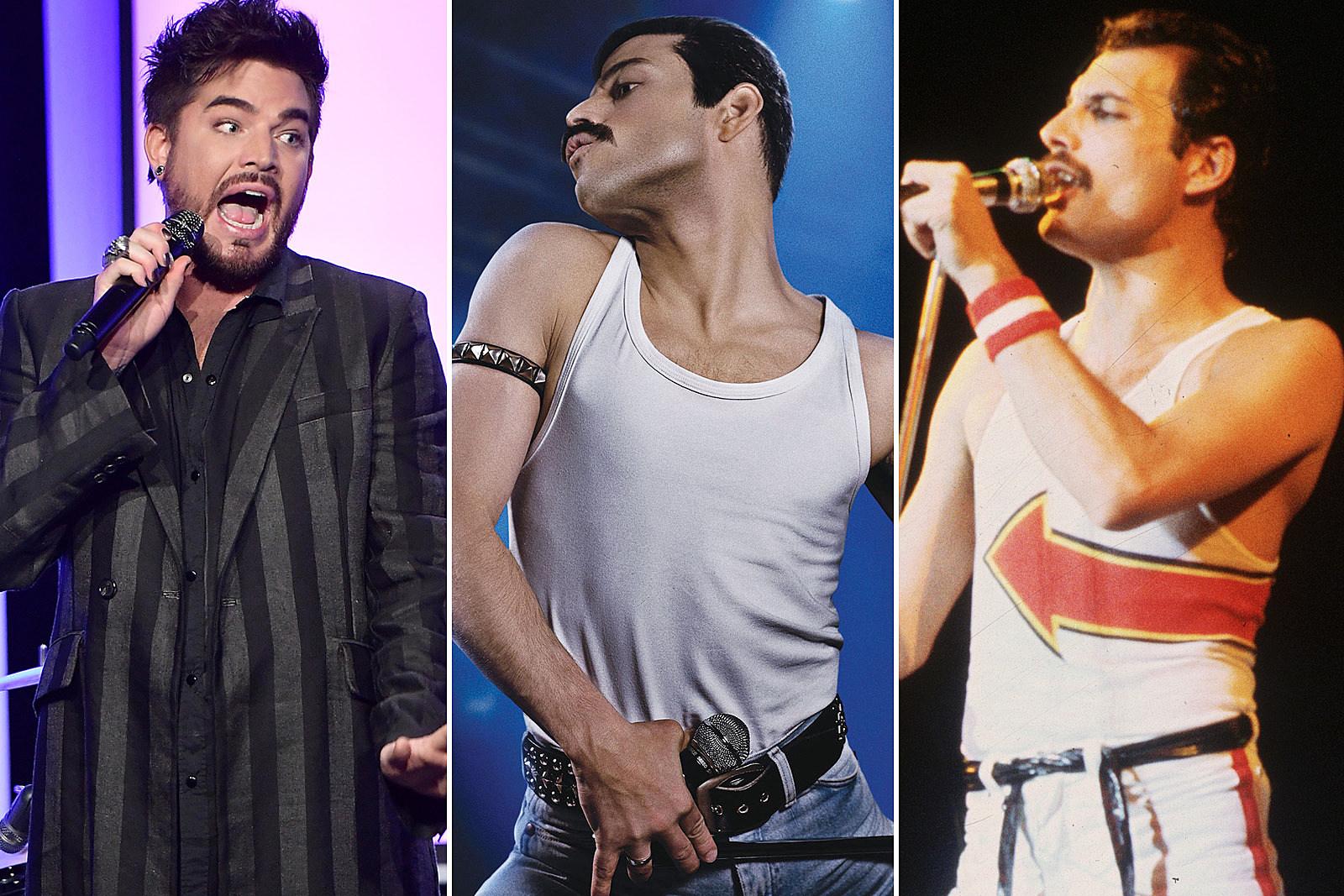 Adam Lambert Discusses Rami Maleks Portrayal Of Freddie Mercury