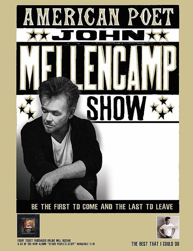john mellencamp albums in order