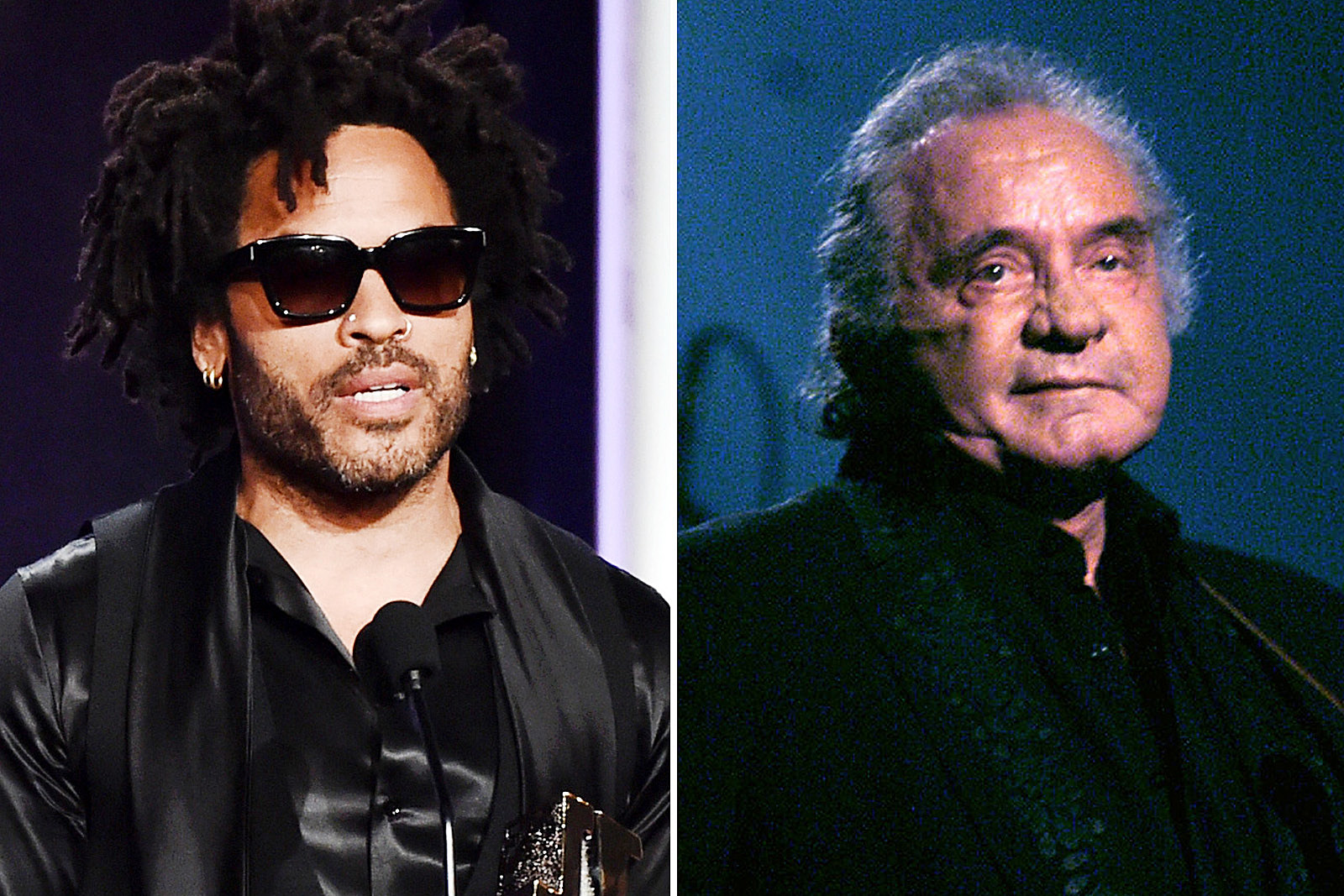 How Johnny Cash Helped Lenny Kravitz When His Mom Died