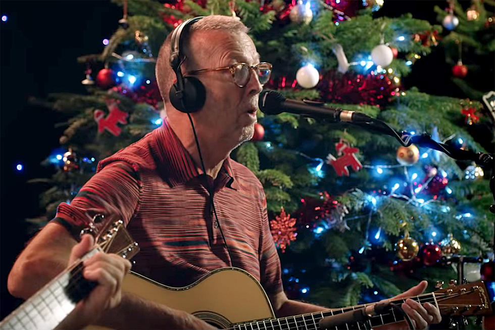 Watch Eric Clapton\'s New \'White Christmas\' Video