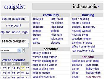 Indy craigslist personals