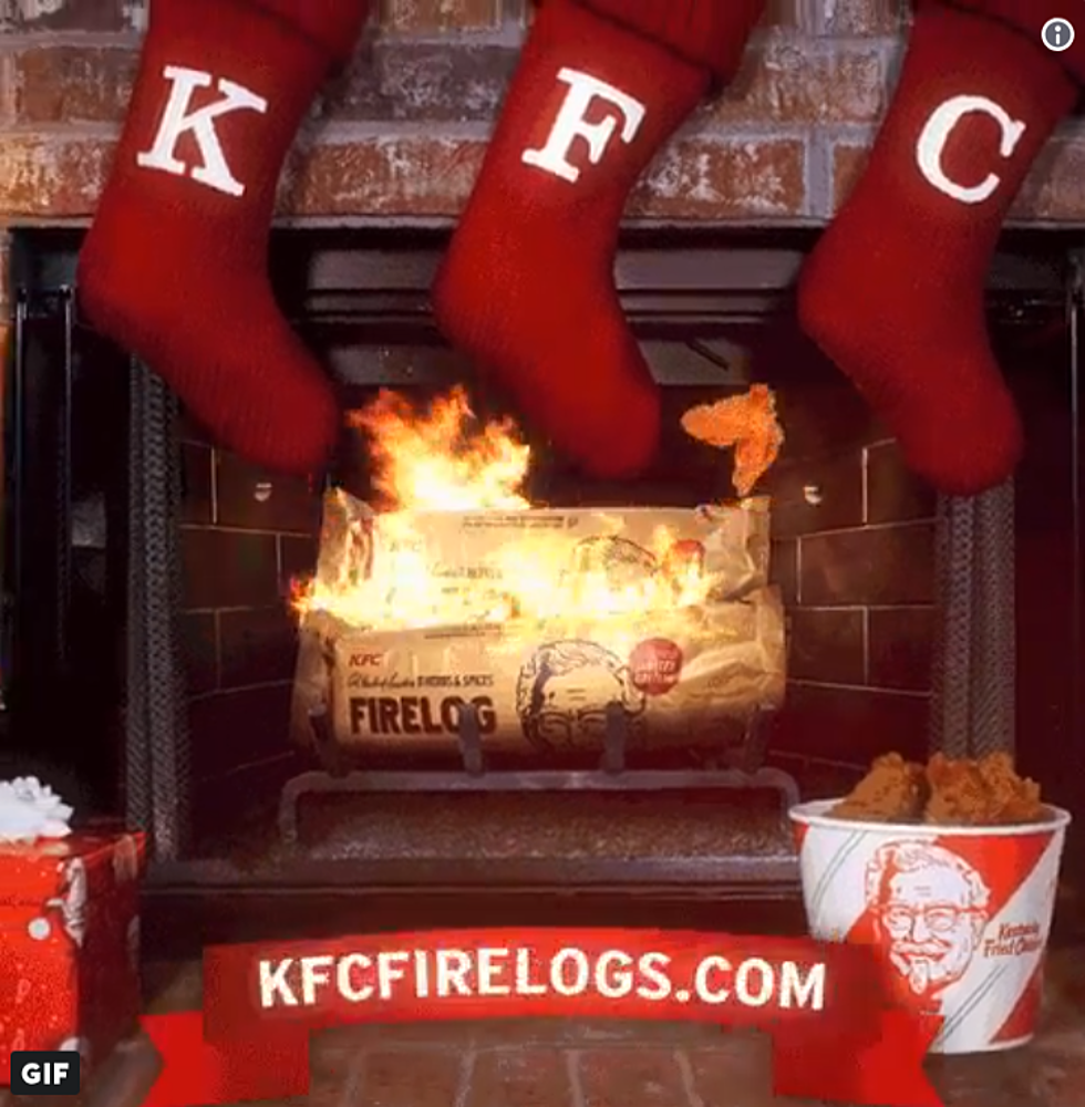 KFC Is Selling A Firelog That Smells Like Fried Chicken [Video]