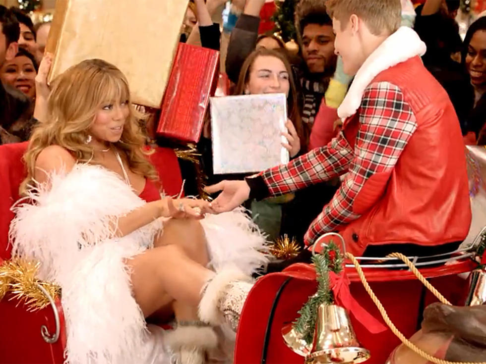 Mariah Carey and Justin Bieber Get Cozy In Controversial \'All I Want ...