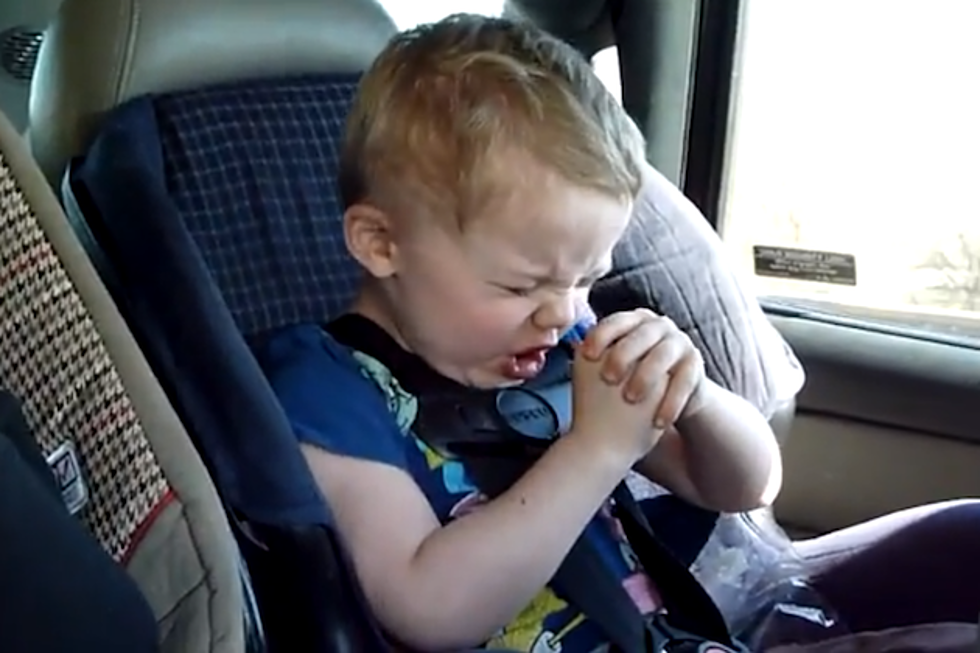 3 Year Old Lukas Rocks Korn Classic In Car Seat Best Of YouTube