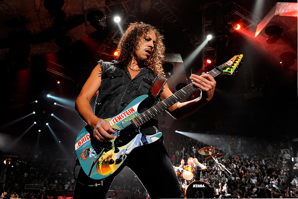 Kirk Hammett Jokes Metallica Cant Play And Justice For All Live Because Theres No Bass On The Album