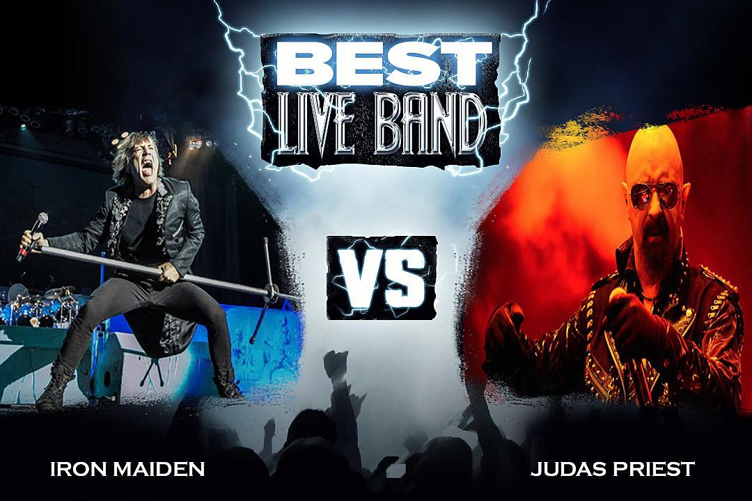 iron maiden vs judas priest best live band round 2